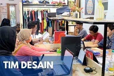 Gallery Perusahaan Konveksi Jogja - Tim Desain