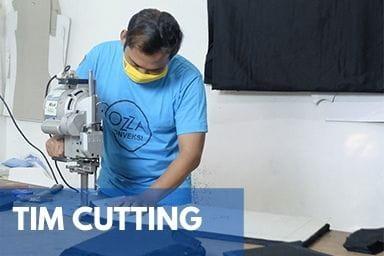 Gallery Perusahaan Konveksi Jogja - Tim Cutting