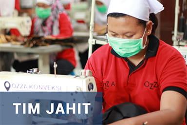 Gallery Perusahaan Konveksi Jogja - Tim Jahit