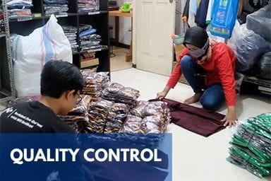Gallery Perusahaan Konveksi Terbesar di Jogja - Quality Control